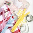 Sewing items — Stockfoto