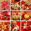 Christmas collage — Foto de Stock