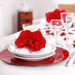 Stock Photo: Fine place setting