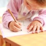 做家庭作业 — 图库照片