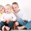 Adorable siblings have a fun — Stock Photo #2233690