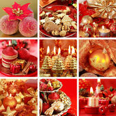 Collage di natale — Foto Stock