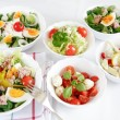 Stockfoto: Small salads