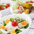 Small salads — Stock fotografie