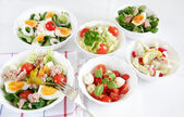 Small salads — Foto de Stock
