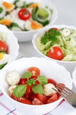 Small salads — Stock Photo