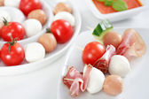 Small party snack — Stock Photo
