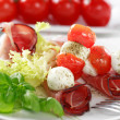Royalty-Free Stock Photo: Tomatoes and mozzarella