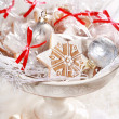 Gingerbread gifts for guests — Stock Photo