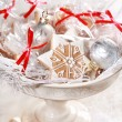Stock Photo: Gingerbread gifts for guests