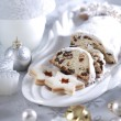 Christmas cake and cookies — Stock Photo #2285786