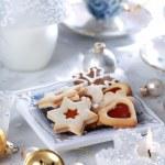 Christmas cake and cookies — Stock Photo #2285807