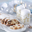 Christmas cake and cookies — Stock Photo #2285824