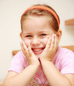 Cute smiling girl — Stock Photo