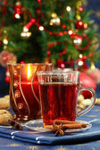 Hot drink for Christmas — Stock Photo