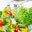 Stock Photo: Delicious vegetable salad