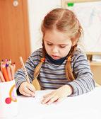 Att göra läxor — Stockfoto