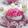 Foto Stock: Fine place setting