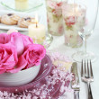 Fine place setting — Stock Photo