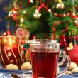 Hot drink for Christmas — Stock Photo #2334162