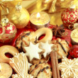Delicious Christmas cookies — Stock Photo #2334497
