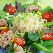 Green salad with tunny - Stock Photo