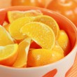 Stock Photo: Sliced orange
