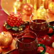 Hot drink for Christmas — Stock Photo #2334667