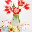 Royalty-Free Stock Photo: Tulips in vase