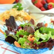 Mixed vegetable salad — Stockfoto