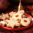 Delicious Christmas cookies — Stock Photo #2335531