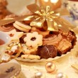 Delicious Christmas cookies — Stock Photo #2335701