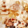 Delicious Christmas cookies — Stock Photo #2335940