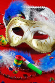 Carnival and party motive — Stock Photo