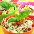 Stockfoto: Different salads in buffet