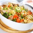 Baked mixed vegetable - Stock Photo