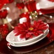 Luxury place setting — Stockfoto