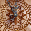 Stock Photo: Handmade clock