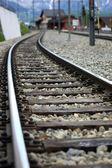 Railroad track — Stock Photo