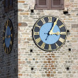 Church Tower with Clock — Stock Photo