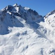 Stock Photo: Swiss mountains in Winter