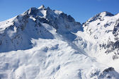 Swiss mountains in Winter — Stok fotoğraf