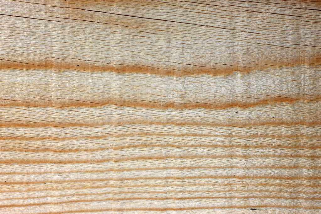 Close view of a structured wood background with knots  Stock Photo #2460636