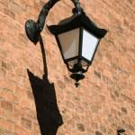 Antique style street wall lantern — Stock Photo