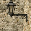 Antique style wall mounted lantern — Stock Photo