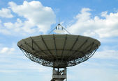 Satellite communication antenna — Stock Photo
