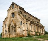 Abandoned catholic temple ruins — Stock Photo