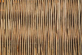 Wicker Fence Background — Stock Photo
