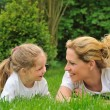Young mother and daughter — Stock Photo #2264030