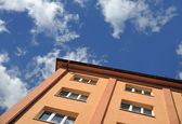 Block of flats - apartment building — Stock Photo